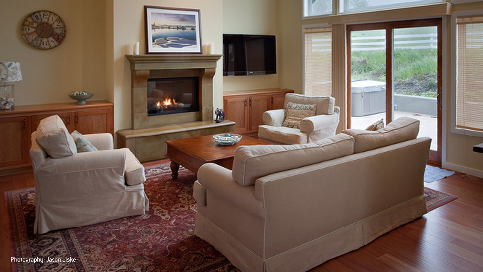 Foy Construction Aptos Fire Place